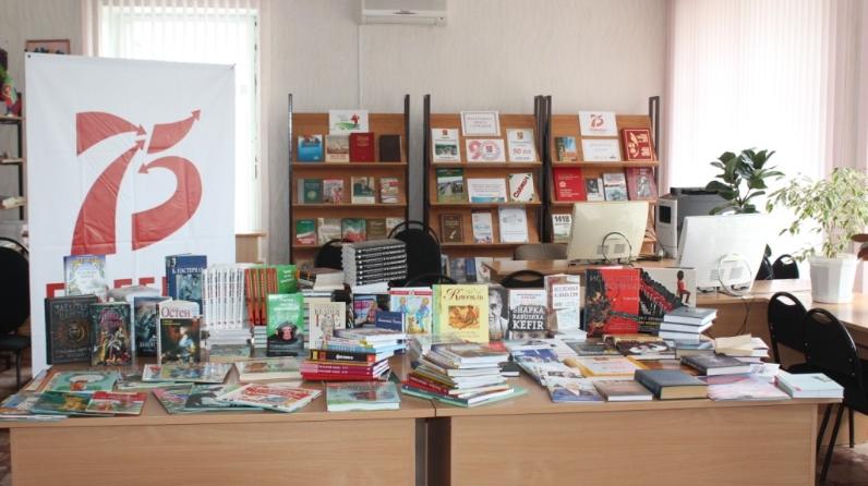 Акция «Книги для сельских библиотек» в Сармановском районе Республики Татарстан
